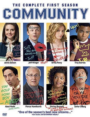 Community (season 1) - DVD cover
