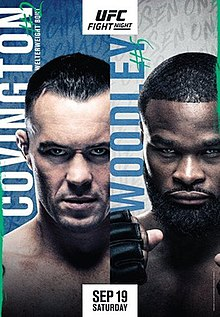 UFC Fight Night: Covington vs. Woodley Fight Poster