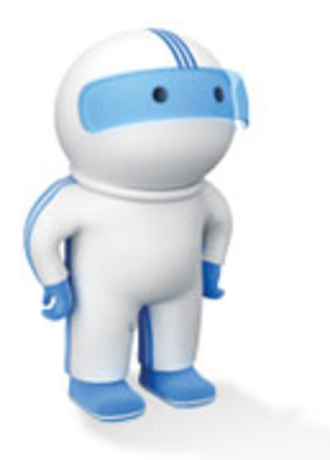 "Cox Communications - Cox Communications' ""Digeez"" mascot, also more commonly known as a ""Digital friend."""