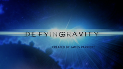 Defying Gravity intertitle