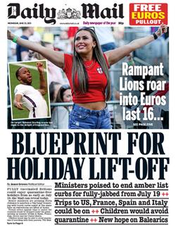 <i>Daily Mail</i> British tabloid newspaper