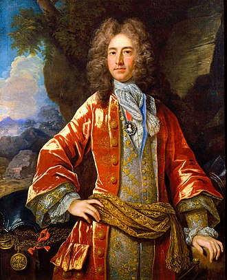 Daniel Parke - Daniel Parke II by John Closterman, oil on canvas, 1706, in the collection of the Virginia Historical Society