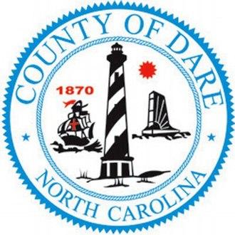 Dare County, North Carolina - Image: Dare county nc seal