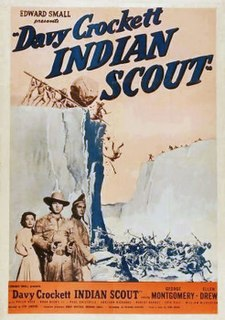 <i>Davy Crockett, Indian Scout</i> 1950 film by Lew Landers