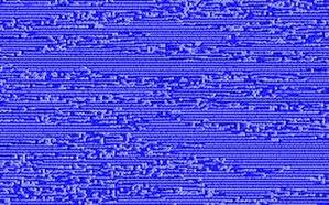 Coupled map lattice - Image: Defect Turbulence logmap