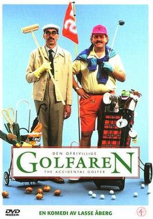 Den ofrivillige golfaren - DVD cover