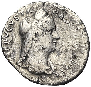 Vibia Sabina - Denarius of Sabina