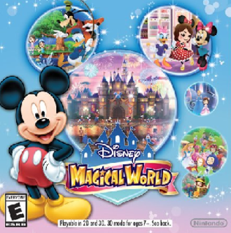 Disney Magical World - Image: Disney M Wboxartusa