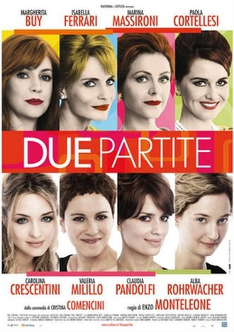 The Ladies Get Their Say - Image: Due partite poster