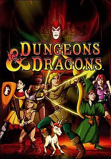 <i>Dungeons & Dragons</i> (TV series) 1980s animation based on game