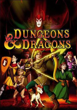 Dungeons & Dragons (TV series) - DVD boxset cover