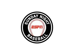 Sunday Night Baseball - Image: ESPN Sunday Night Baseball logo