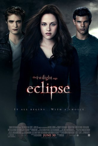 The Twilight Saga: Eclipse - Theatrical release poster