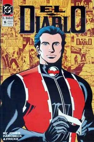 El Diablo (comics) - Image: El Diablo comic book cover (vol. 2 no. 16)