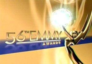 56th Primetime Emmy Awards - Promotional poster