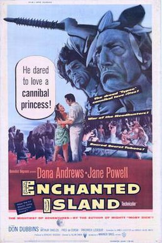 Enchanted Island (film) - 1958 US Theatrical Poster