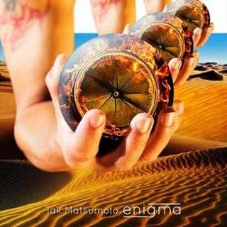 <i>enigma</i> (Tak Matsumoto album) album by Takahiro Matsumoto