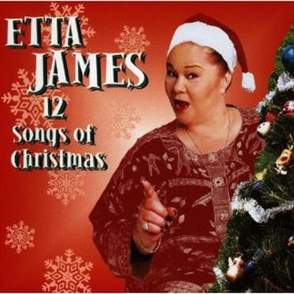 12 Songs of Christmas (Etta James album) - Image: Etta James, 12 Songs of Christmas