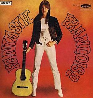 Mon amie la rose (album) - Image: F. Hardy, Fantastic Françoise, Vogue Australia 65