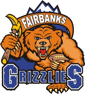 Fairbanks Grizzlies - Image: Fairbanks Grizzlies logo
