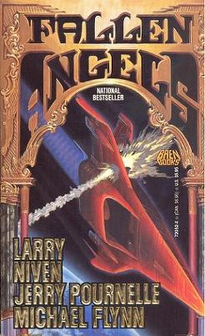 Fallen Angels (science fiction novel) - Image: Fallen Angels book cover