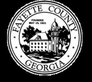 Fayette County, Georgia - Image: Fayette County, Georgia seal