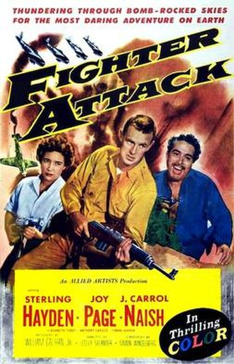 Fighter Attack - Theatrical poster