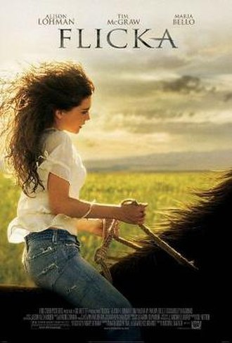Flicka - Theatrical release poster