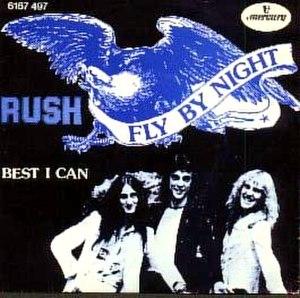 Fly by Night (Rush song) - Image: Fly By Nightsinglerush