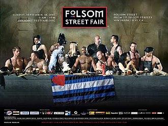 Folsom Street Fair - The official poster for the 2007 Folsom Street Fair