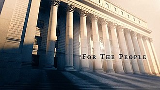 For the People (2018 TV series) - Image: For the People (2018 TV series) Title Card