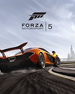 <i>Forza Motorsport 5</i> racing video game by Turn 10