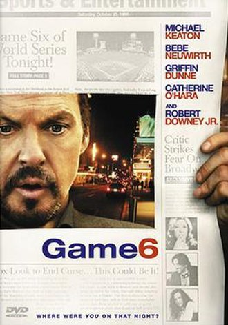 Game 6 - Image: Game 6 dvd cover