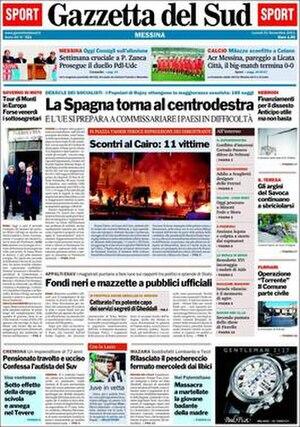 Gazzetta del Sud - Image: Gazzetta del Sud