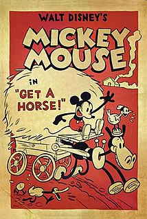 <i>Get a Horse!</i> 2013 Mickey Mouse short by Lauren MacMullan
