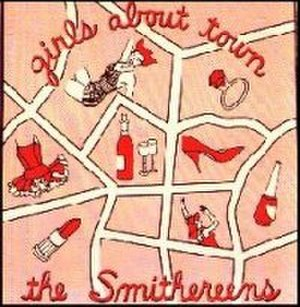 Girls About Town (EP) - Image: Girls About Town (The Smithereens album cover art)