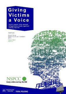 <i>Giving Victims a Voice</i> report relating the allegations of sexual abuse made against Jimmy Savile