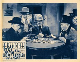 <i>Goofs and Saddles</i> 1937 film by Del Lord