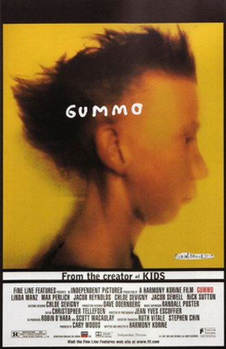 Gummo - Theatrical release poster
