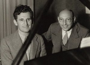 Harry Ruby - L to R: Harry Ruby and Bert Kalmar
