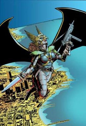 Hawkwoman - Image: Hawkwoman 123