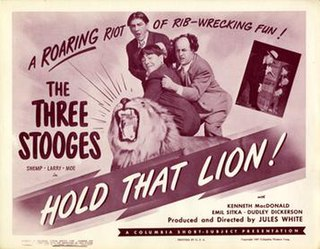 <i>Hold That Lion!</i> (1947 film) 1947 film by Jules White