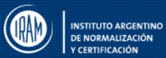Instituto Argentino de Normalización y Certificación - Official logo of IRAM.