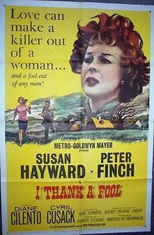 I Thank a Fool - Original film poster