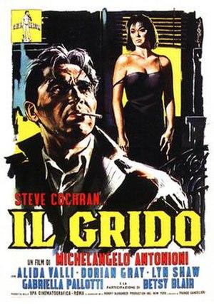 Il Grido - Theatrical release poster