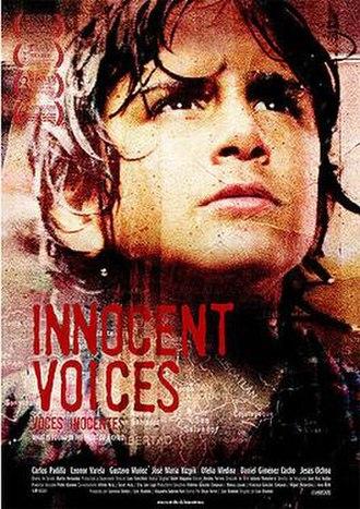 Voces inocentes - U.S. release poster