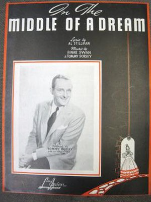 In the Middle of a Dream -  1939 sheet music cover, Larry Spier, New York.