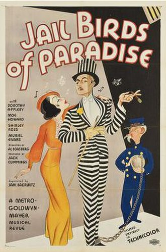 Jail Birds of Paradise - Theatrical release poster
