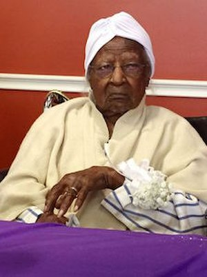 Jeralean Talley - Jeralean Talley just prior to 116th birthday