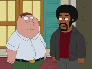 Jerome Is the New Black - Image: Jerome is the New Black Family Guy promo